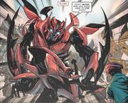 TF3 Comic Adaptation Mirage Dino.JPG