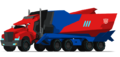 Optimus Prime Robots in Disguise Truck