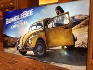BumblebeeMovie at the CinemaCon