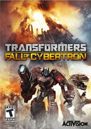 Transformers Fall of Cybertron Game Cover