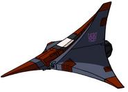 Transformers G1 Thrust tetrajet
