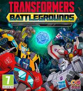 Transformers Battlegrounds Cover