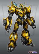 Tu-character-art bumblebee