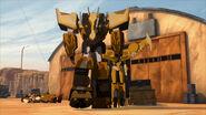 Rid Cover Me screenshot Optimus and Windblade walking