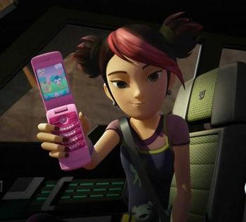 Miko's phone