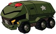 Animated Bulkhead truck