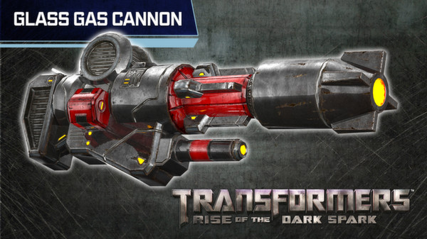 Glass gas cannon
