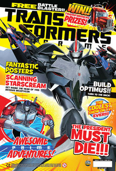 Transformers Comic issue 4.6