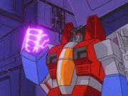 Divide and Conquer Starscreams Glowing Fist.jpg