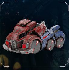FOC Optimus Prime vehicle