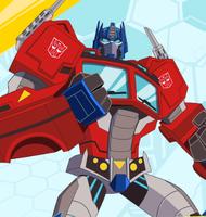 Optimus Prime Cyberverse