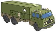Transformers G1 Bulkhead truck