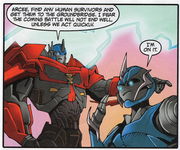 Transformers Comic issue 4.17