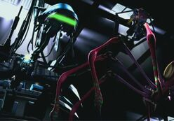 Beast Machines Blackarachnea Thrust and Spark Extractor Drone