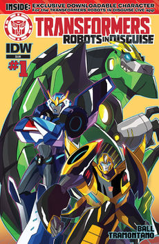 Robots in Disguise comic issue 1