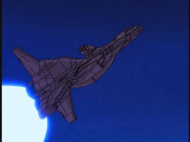 Decepticon space cruiser