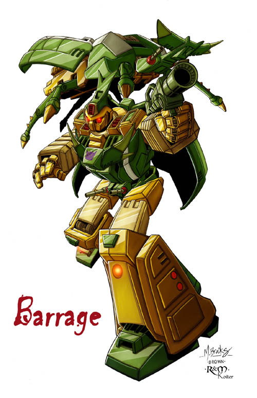 Barrage (Insecticon)