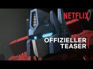 Transformers- War for Cybertron Trilogy – Erdaufgang - Teaser - Netflix