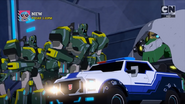 Strongarm, Grimlock and High Council troopers