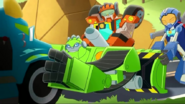 Whirl and Wedge with Boulder