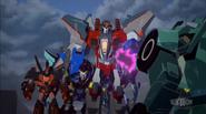 Starscream's Team and Clawtrap