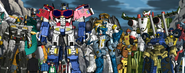 Coby, Lori, Lucy, Bud and Autobots Meet Colonel Franklin