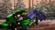Grimlock and Thermidor's fight