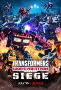 Transformers War For Cybertron Trilogy Siege Poster