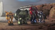 Darkest Hour Autobots in line