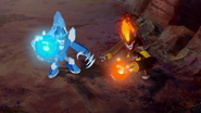 Glacius & Swelter Ready to Attack