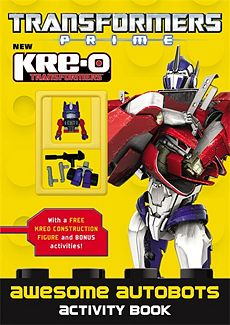 Awesome Autobots Activity Book