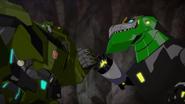Grimlock und Bulkhead (Gute Teamarbeit)