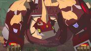 Scowl Meets Grimlock