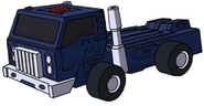 Pipes truck