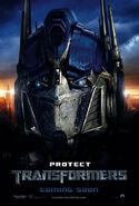 Transformers Film Poster Optimus Prime