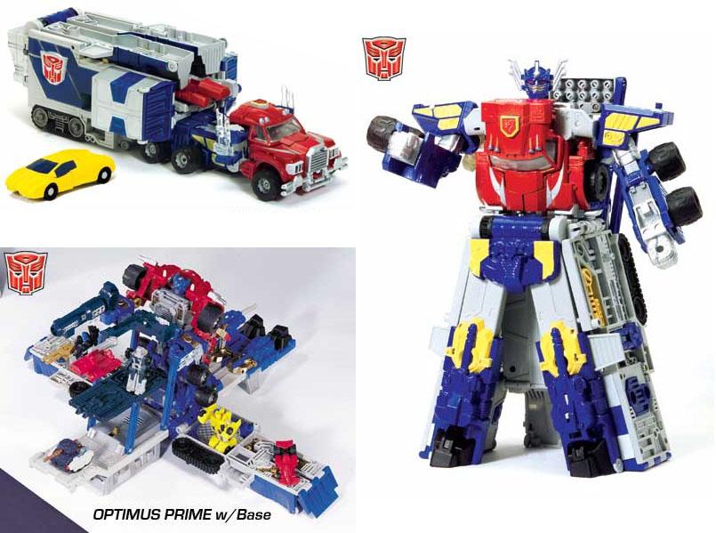 Optimus Prime (Unicron Trilogy)/toys