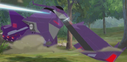Fracture Cybertronian vehicle HuntingSeason