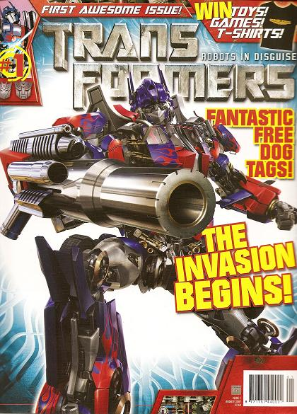 Transformers Comic issue 1