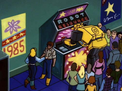 Robots Video Arcade