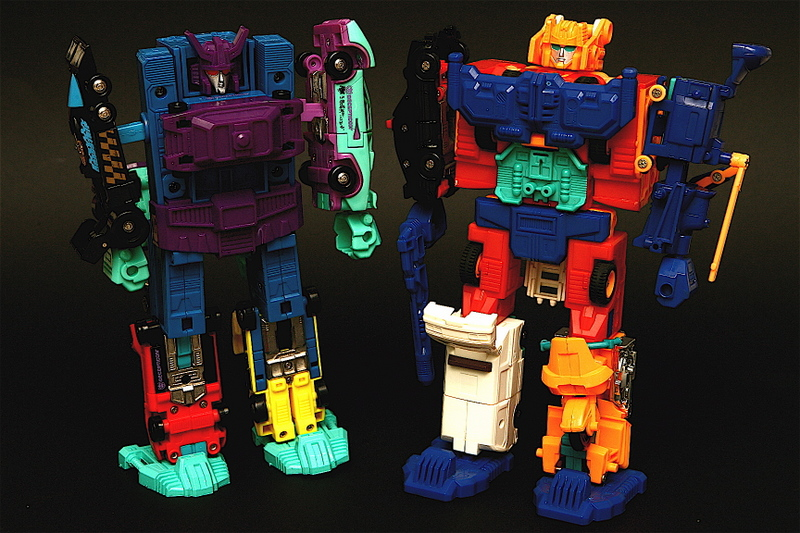 Generation 2 Defensor and Menasor