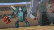 TheChamp Groundpounder vs Mechanosaurus