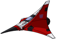 Transformers G1 Ramjet tetrajet