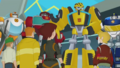 Burnses, Rescue Bots and Bumblebee