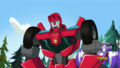Blurr and Sideswipe (Rescue Bots)