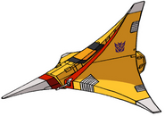 Transformers G1 Sunstorm tetrajet