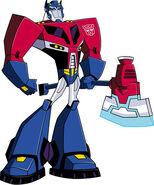 Optimus Prime Animated