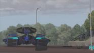 TF RiD Megatronus Fahrzeug