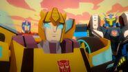 Cyberverse Megatron X Bumblebee, Optimus und Thunderhowl