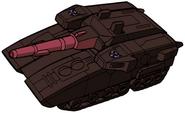 Transformers The Headmasters Flywheels tank