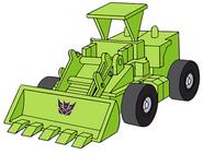 Transformers G1 Scrapper bulldozer